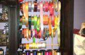 Personalizado de la cinta organizador para Closet sala de arte