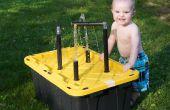 Tabla de agua, para que los niños