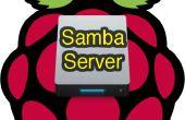 Software de servidor de archivo Samba frambuesa