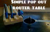 Simple pop a la mesa de fresadora