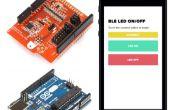 Cómo conectar tu escudo Arduino BLE a una aplicación de iOS/Android personalizada desarrollada en HTML5 y JavaScript.