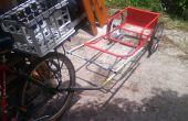 Remolque de bicicleta carro combinado
