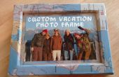 Marco de fotos personalizado de vacaciones