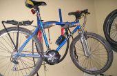 Guardabarros PVC bicicleta por 2 dólares