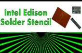 Soldar conector Edison de Intel