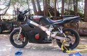 Válvula de separación ajuste How-to (motocicleta en línea-4)