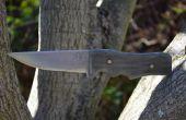 Fabricación del cuchillo