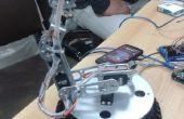 6 Dof brazo robótico controlado por 1Sheeled
