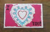 Marrón de papel de molde de bolso para día de San Valentín