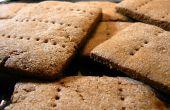 Casero galletas con glaseado de Chocolate blanco