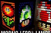 Mosaico LEGO lámparas