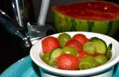 Carbonatadas de ensalada de frutas