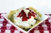 """""""Alfredo"""" salsa de coliflor sin lactosa"""