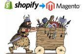 Cómo migrar todos los datos de Shopify para Magento en 7 pasos