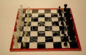 Tablero de ajedrez de acrílico personalizada