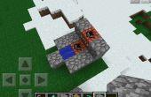 Cañón de TNT de Minecraft Pe