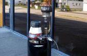 Un gasificador de biomasa de Home-Built para producir Gas de madera