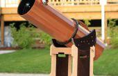 Telescopio madera parte 2: Tubo y montura