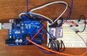 Arduino Digital 7 segmentos termómetro