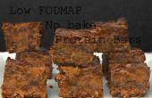 FODMAP bajos, sin barras de proteína BAKE (hornear)