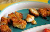 Nuggets de pollo libre de gluten