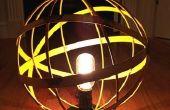 Escultórica lámpara