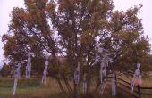 Esqueleto de árbol Hangin '
