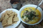 Receta de sopa de oliva jardín toscano de imitación