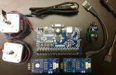 Con un Joystick para controlar motores paso a paso con una FPGA