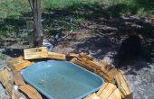 Piscina de Zeevah Elite perrito agua aves / tazón de fuente de baño