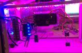 Arboleda de Arduino WiFi habilitado efecto invernadero