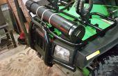 ATV almacenamiento ABS tubo a prueba de agua