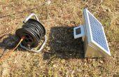 Salida de energía solar