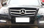 Instalar iJDMTOY Mercedes Benz GLK LED luces circulación diurna