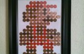 Arte de pixel mario Penny