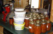 Cómo conservar un Bushel de tomates en un día