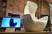Silla de marsupial - CNC fresado de modelo 3D