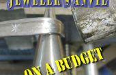 Yunque de joyero con un presupuesto