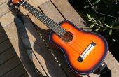 Hacer un ukelele barítono de una guitarra de juguete de $10