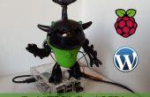 Alerta de Animatronics de WordPress con frambuesa Pi