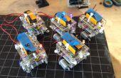 BristleSwarm: Exploraciones en robótica del enjambre