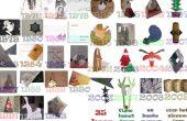 10 tarjetas de Navidad 3D original