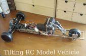 Inclinando el vehículo RC modelo