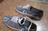 Ikat imprimir zapatos