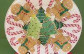 PLACA de la galleta de Navidad