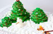 Bosque de galleta de Navidad