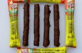 De XXtra picante Chocolate cubierto Slim Jim