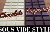 Templar el chocolate: Sous Vide estilo