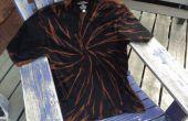 Blanqueado de la camiseta de tigre negro