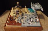 Cómo hacer una escena de la pequeña batalla de Lego